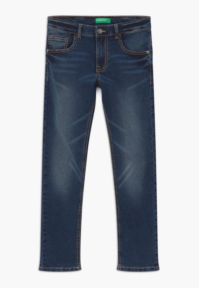 Benetton - Jeans Skinny - dark blue denim