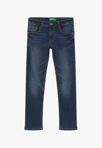 Benetton - Jeans Skinny Fit - dark blue denim - 2