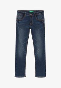 Benetton - Jeans Skinny - dark blue denim - 2