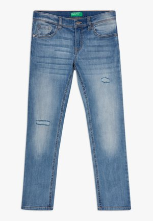 TROUSERS - Džíny Slim Fit - light blue denim