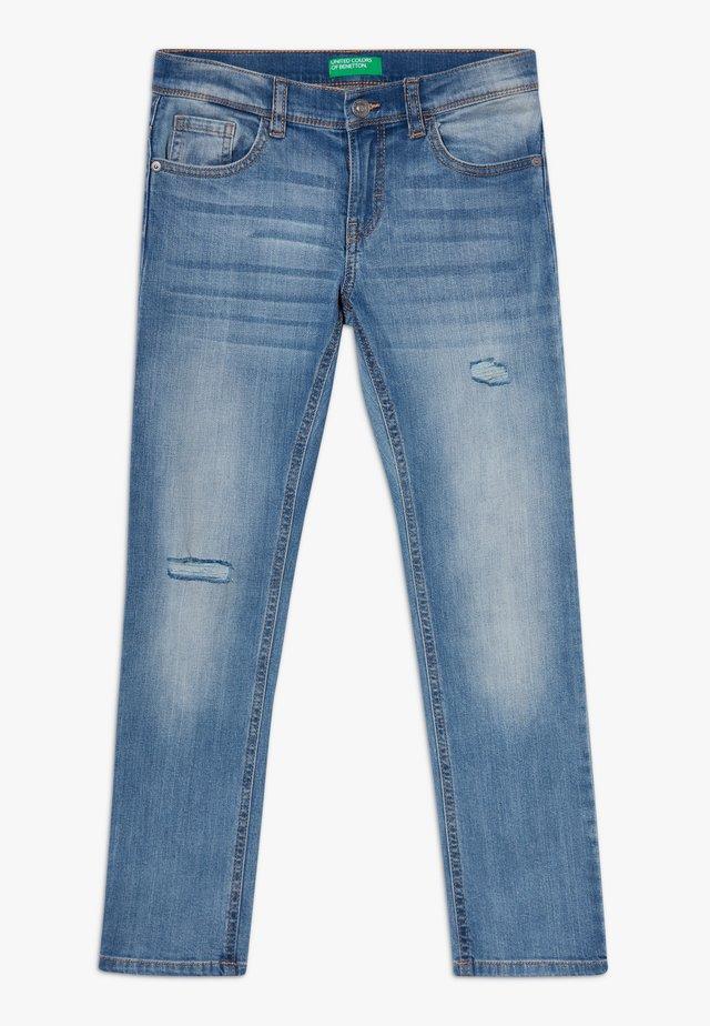 TROUSERS - Slim fit jeans - light blue denim