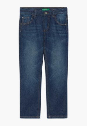 Džíny Straight Fit - dark blue denim