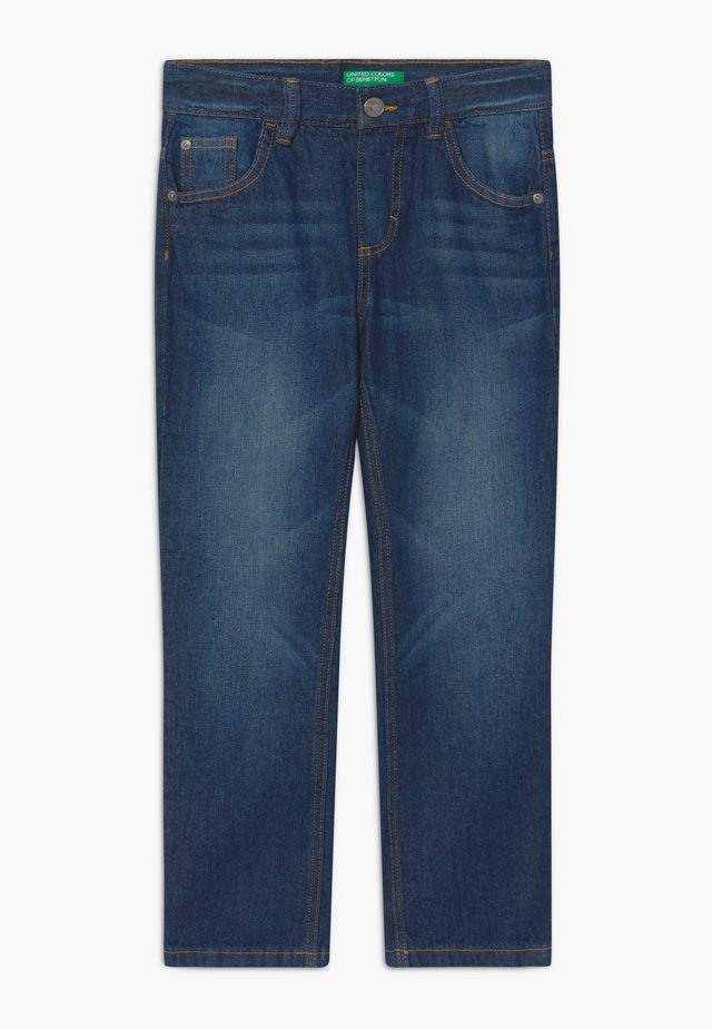 Jean droit - dark blue denim