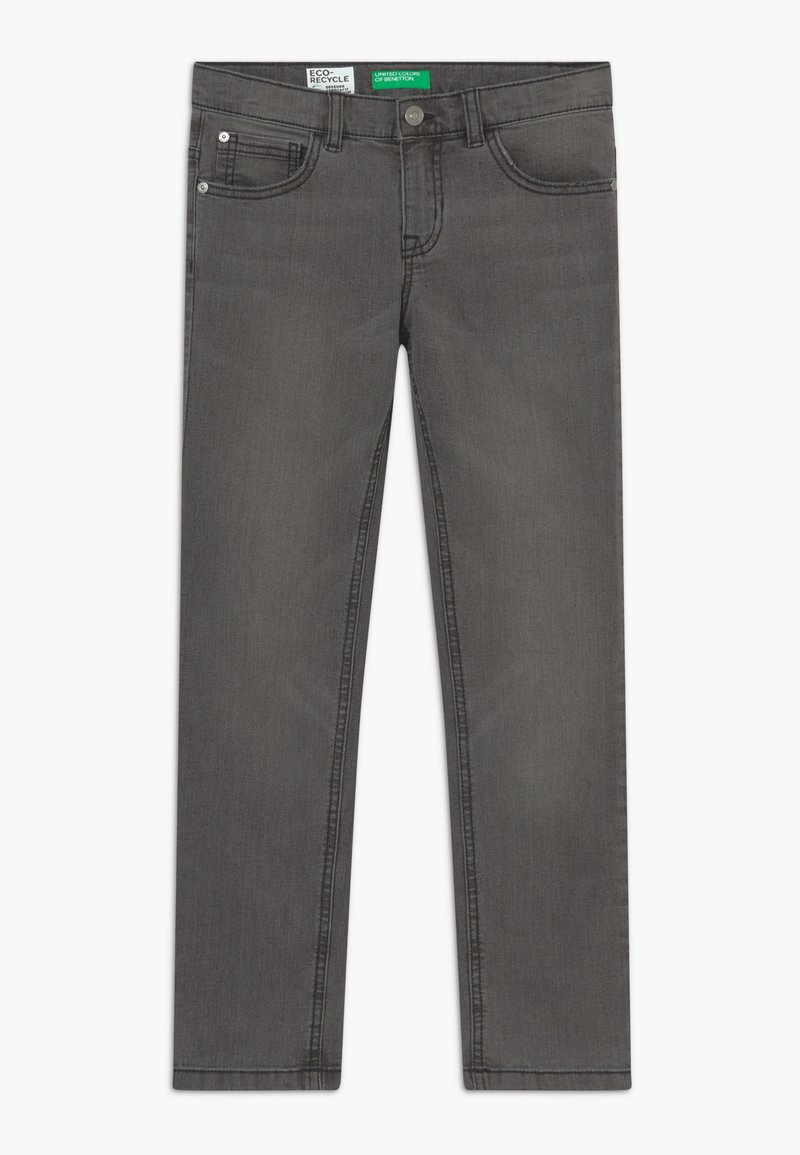 Benetton - Džíny Slim Fit - dark blue denim