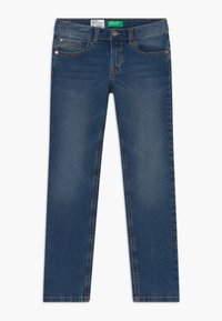 Benetton - Džíny Slim Fit - blue denim - 0
