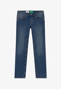 Benetton - Džíny Slim Fit - blue denim - 2