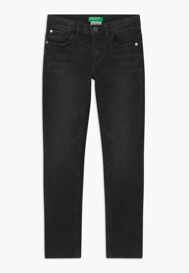 BASIC BOY - Slim fit jeans - black denim