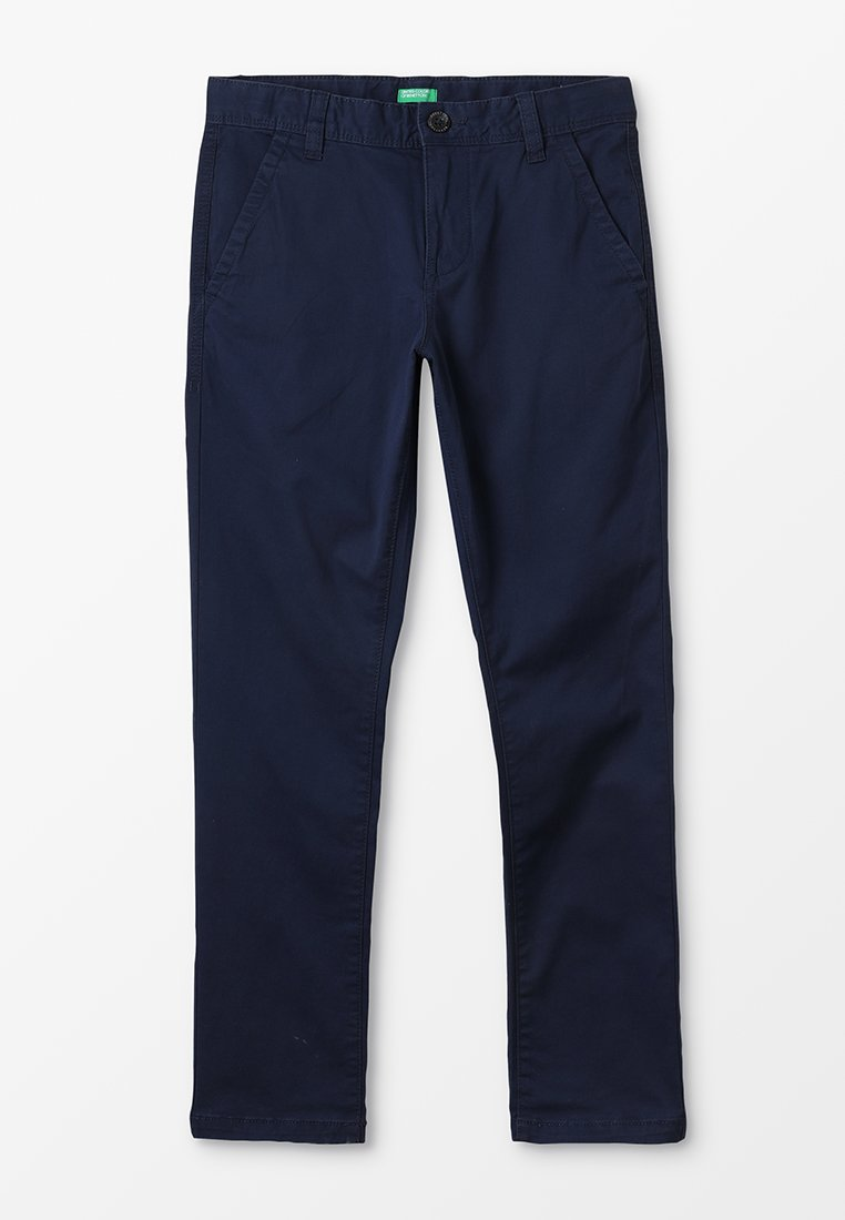 Benetton - TROUSERS BASIC - Chino - dark blue