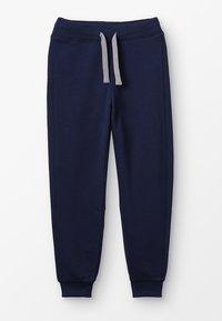 Benetton - TROUSERS BASIC - Spodnie treningowe - dark blue - 0