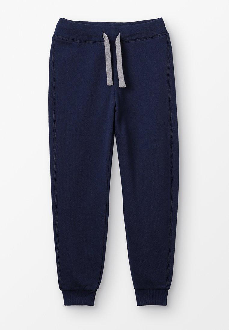 Benetton - TROUSERS BASIC - Spodnie treningowe - dark blue