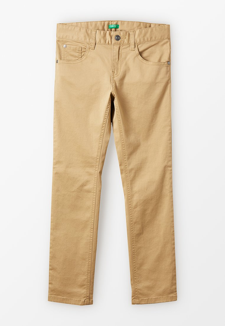 Benetton - TROUSERS BASIC - Trousers - beige