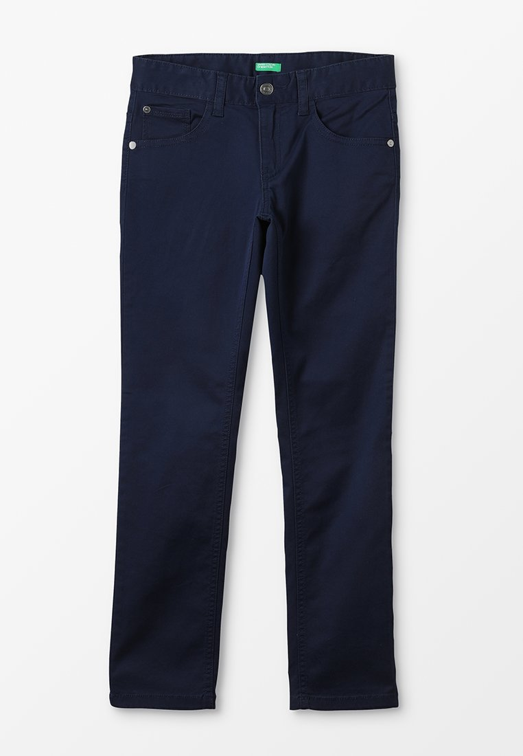 Benetton - TROUSERS BASIC - Pantalones - dunkelblau