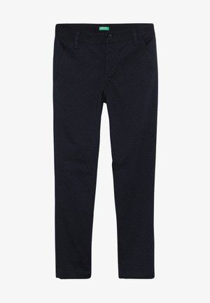 TROUSERS - Suit trousers - blue
