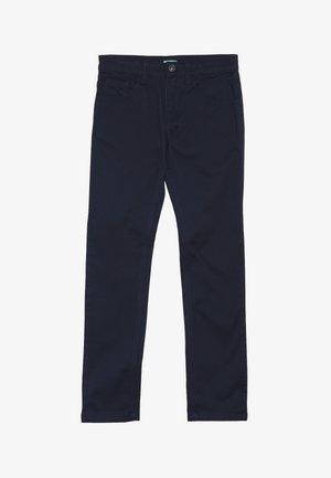 TROUSERS - Spodnie materiałowe - blue