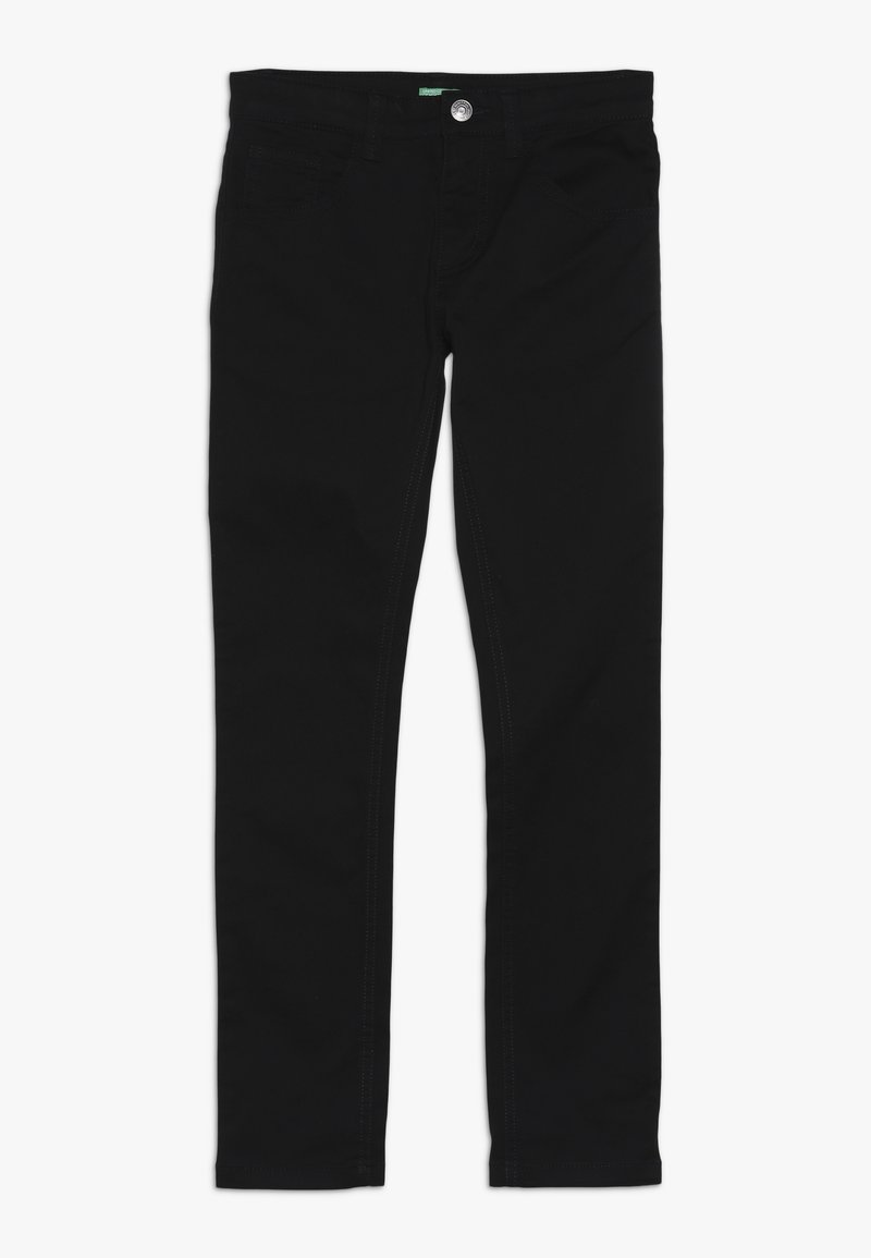 Benetton - TROUSERS - Kangashousut - black