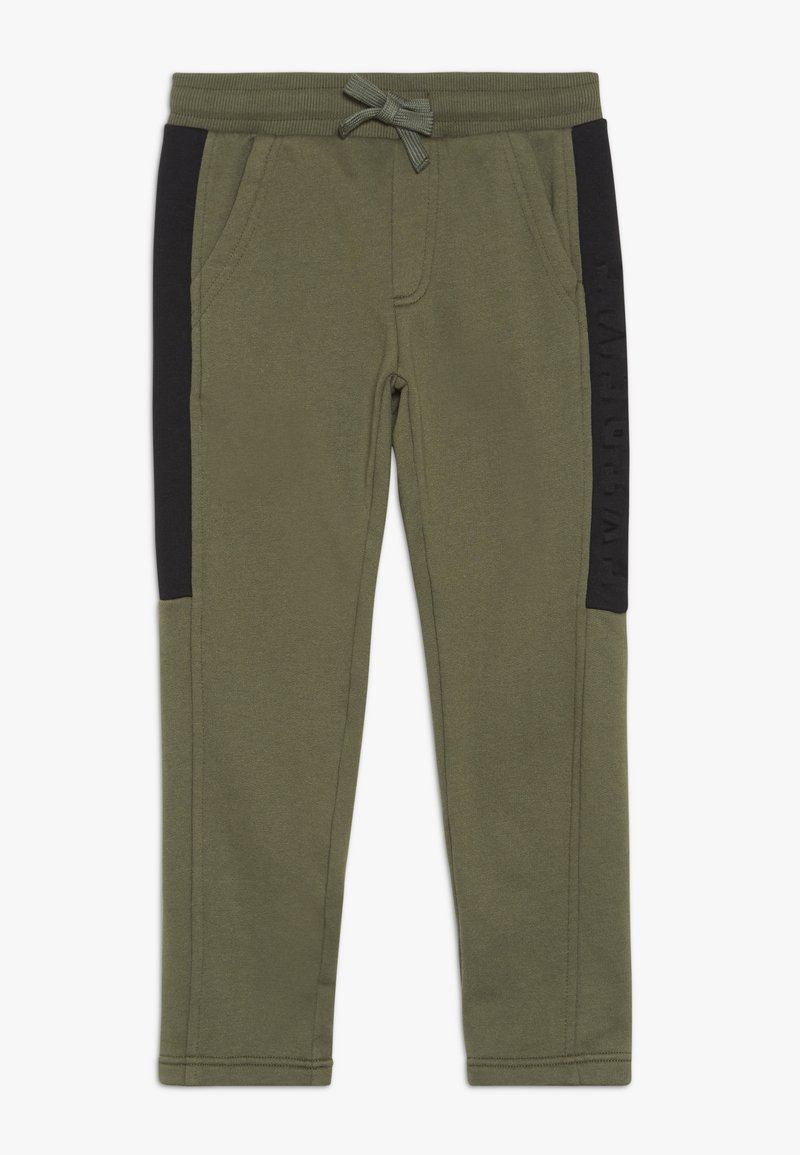 Benetton - LONG TROUSERS - Verryttelyhousut - khaki