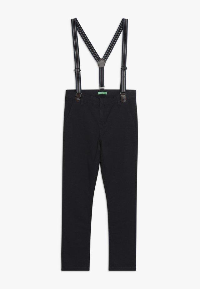 LONG TROUSERS - Spodnie materiałowe - grey