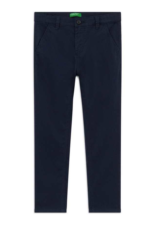 TROUSERS - Chinos - dark blue