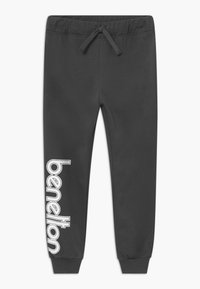 Benetton - TROUSERS - Tracksuit bottoms - grey - 0