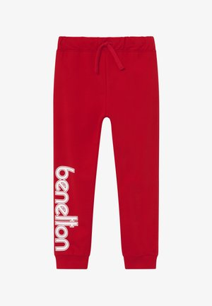 TROUSERS - Joggebukse - red