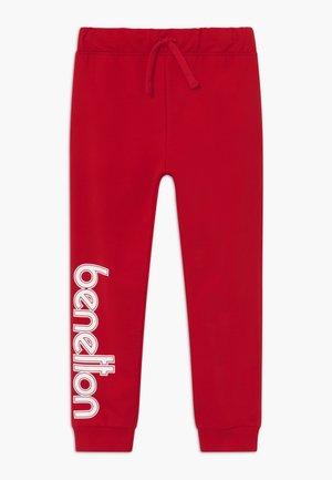 TROUSERS - Spodnie treningowe - red