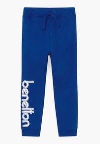 Benetton - TROUSERS - Tracksuit bottoms - blue - 0