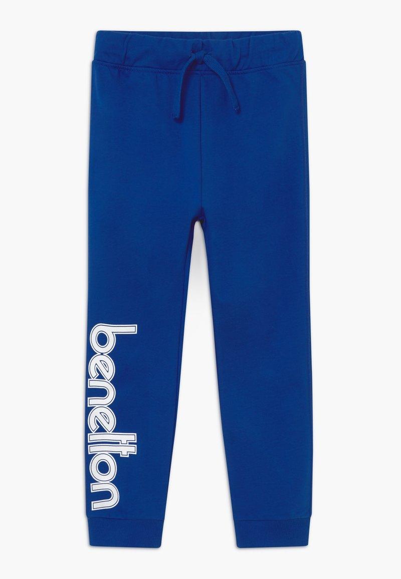 Benetton - TROUSERS - Tracksuit bottoms - blue