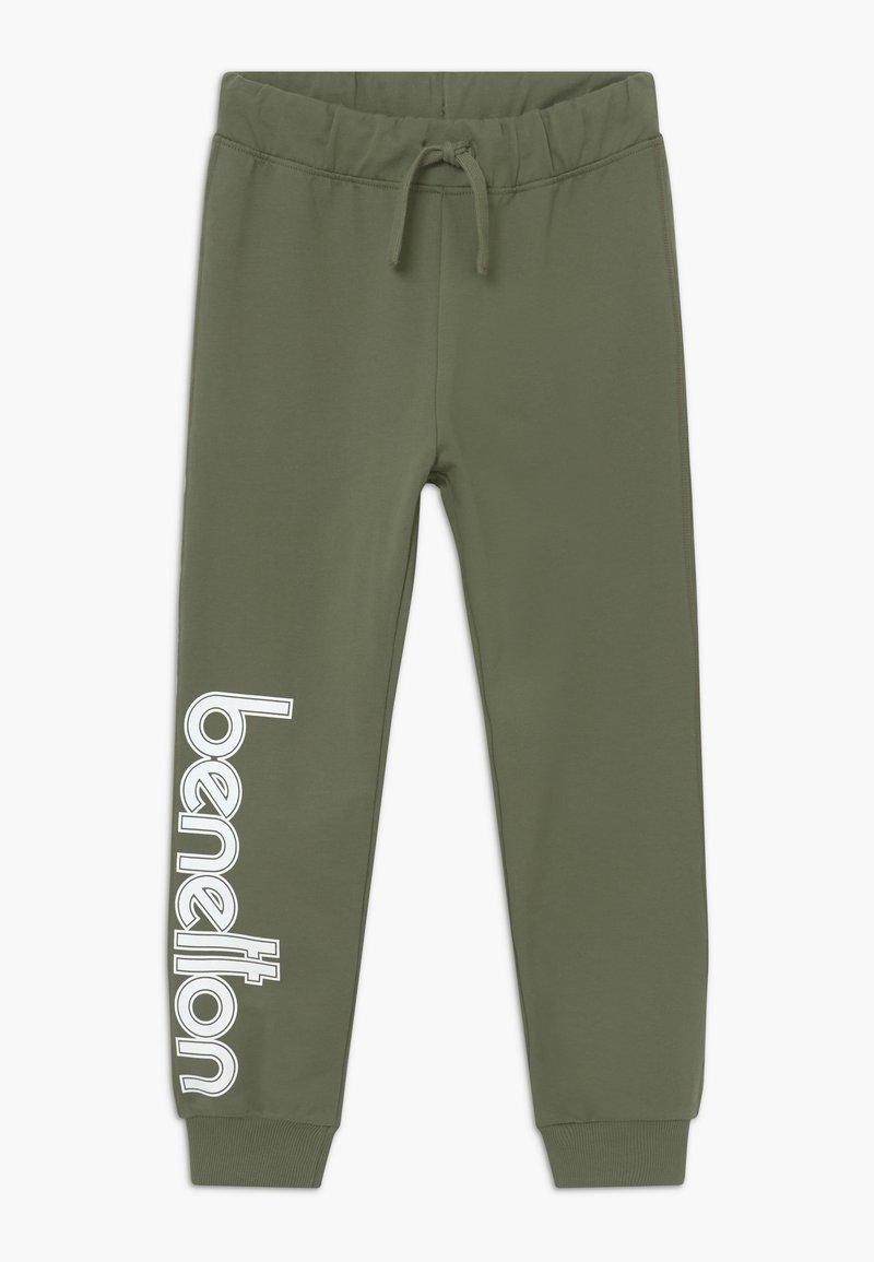 Benetton - TROUSERS - Teplákové kalhoty - khaki