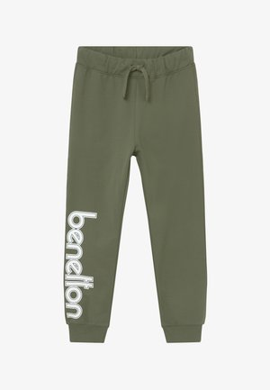 TROUSERS - Tracksuit bottoms - khaki