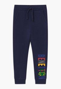 Benetton - Spodnie materiałowe - dark blue - 0