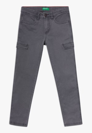 TROUSERS  - Cargo trousers - khaki