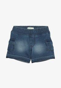 Benetton - SHORTS - Pantalones deportivos - blue denim - 3