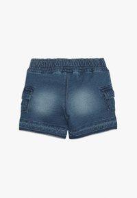 Benetton - SHORTS - Pantalones deportivos - blue denim - 1