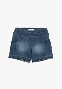 Benetton - SHORTS - Pantalones deportivos - blue denim - 0