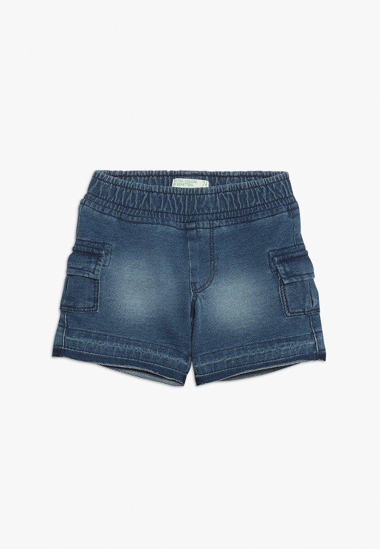 Benetton - SHORTS - Pantalones deportivos - blue denim