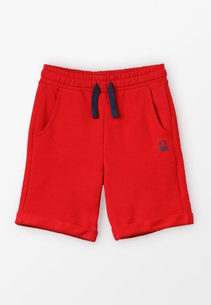 BERMUDA BASIC - Tracksuit bottoms - red