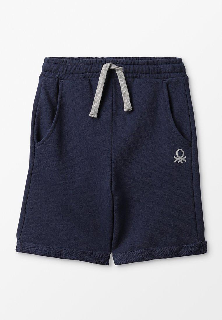 Benetton - BERMUDA BASIC - Spodnie treningowe - dark blue