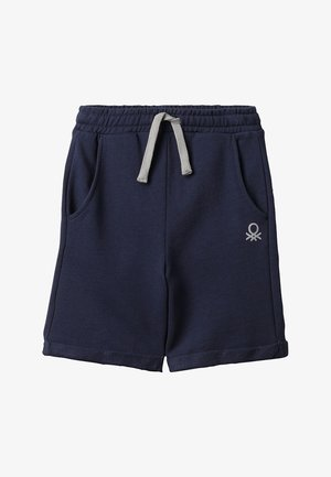 BERMUDA BASIC - Teplákové kalhoty - dark blue