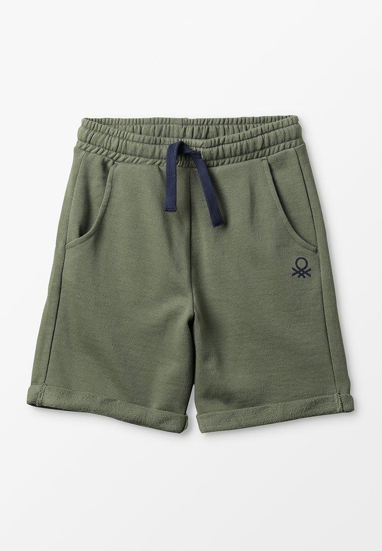 Benetton - BERMUDA BASIC - Pantaloni sportivi - khaki