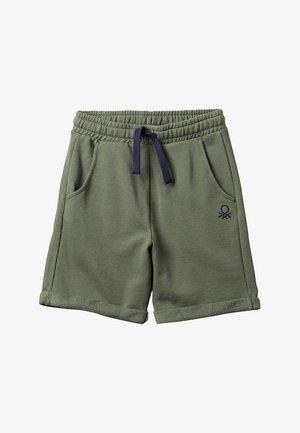 BERMUDA BASIC - Tracksuit bottoms - khaki