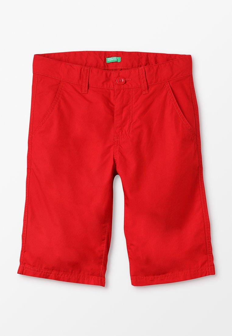 Benetton - BERMUDA BASIC - Shorts - red