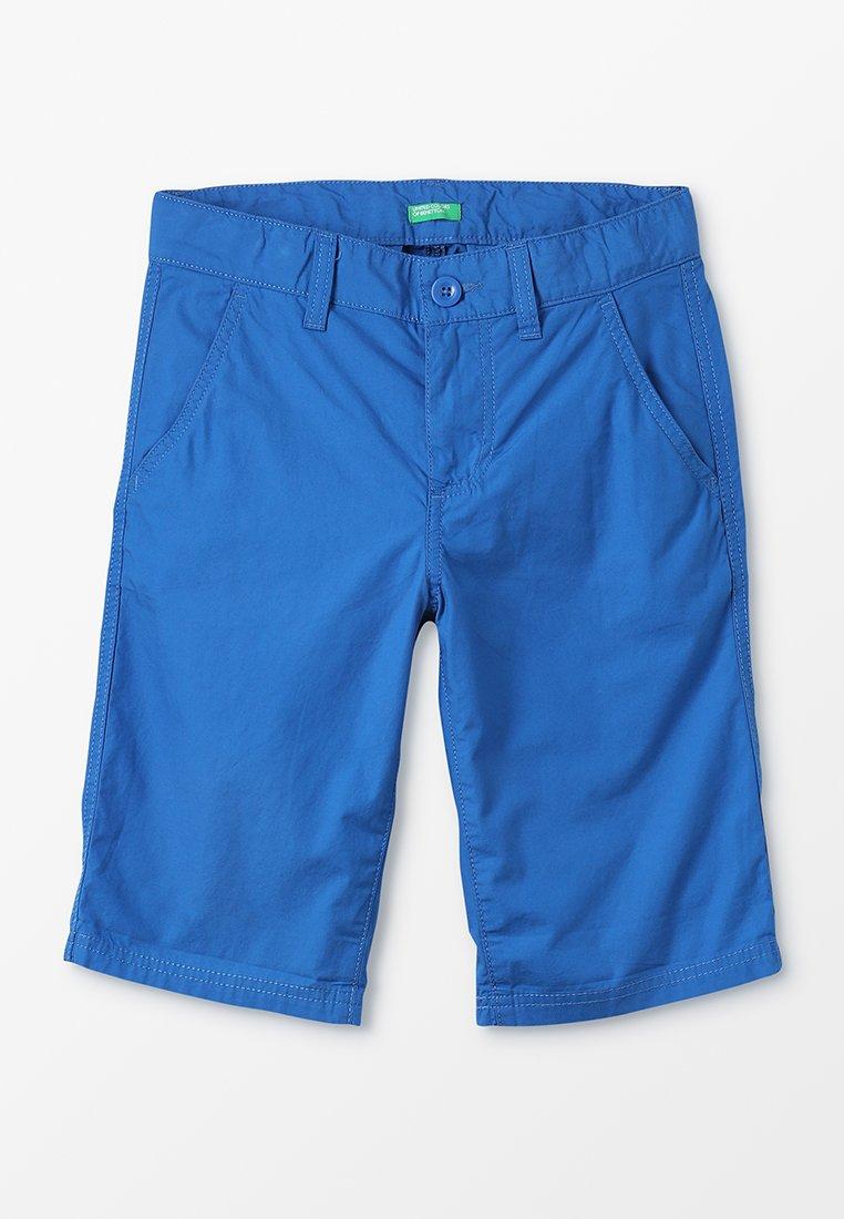 Benetton - BERMUDA BASIC - Kraťasy - blue