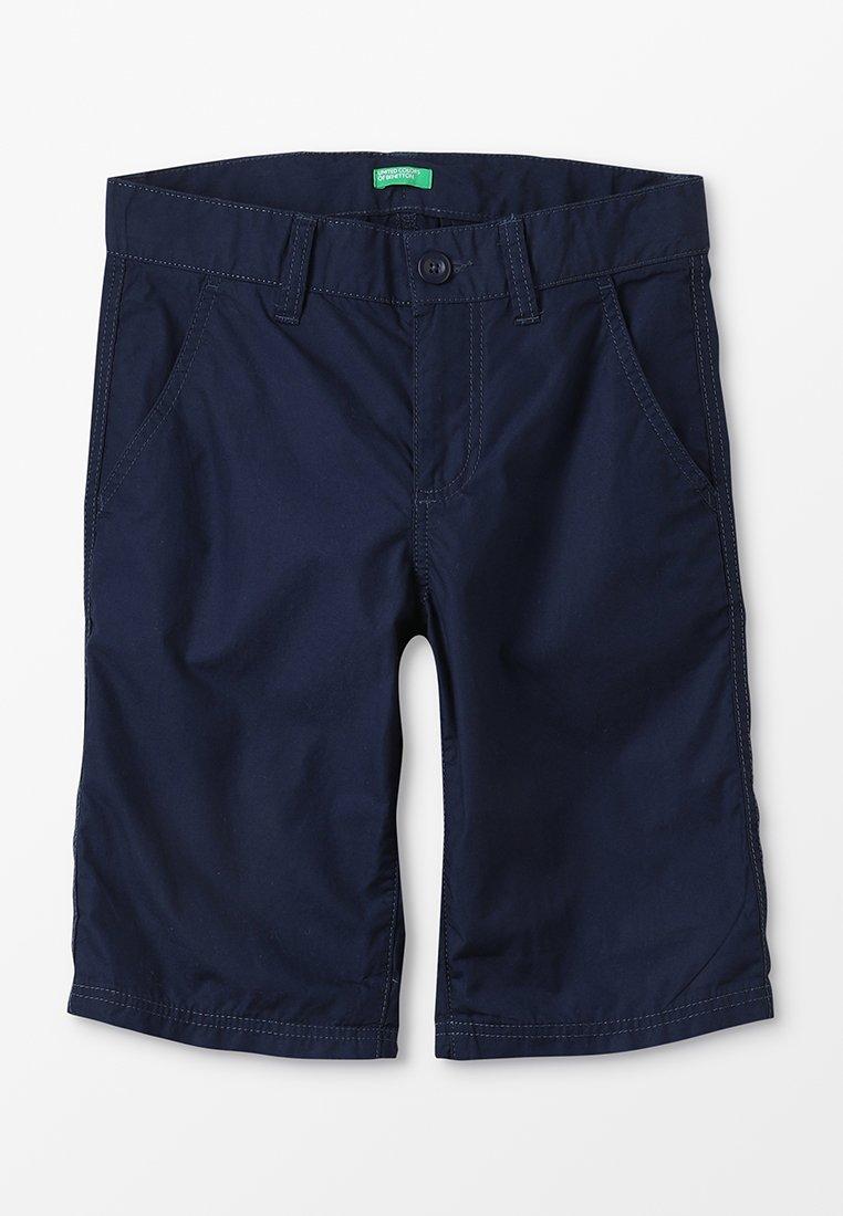 Benetton - BERMUDA BASIC - Shorts - dunkelblau