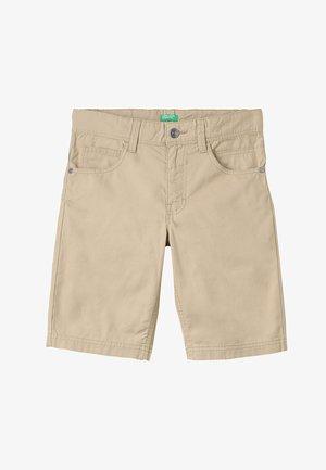 BERMUDA BASIC - Shorts - beige