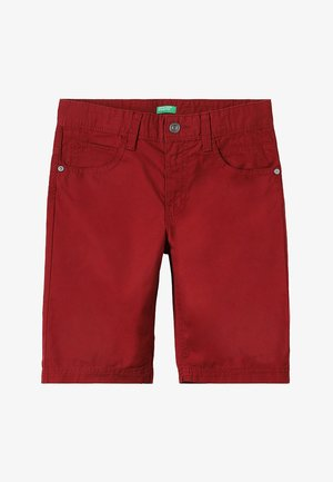 BERMUDA BASIC - Kraťasy - dark red