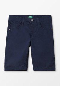 Benetton - BERMUDA BASIC - Shorts - dark blue - 0