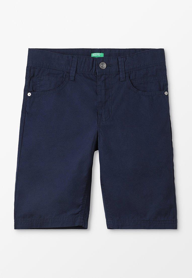 Benetton - BERMUDA BASIC - Shorts - dark blue