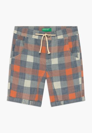 BERMUDA - Shorts - blue/orange