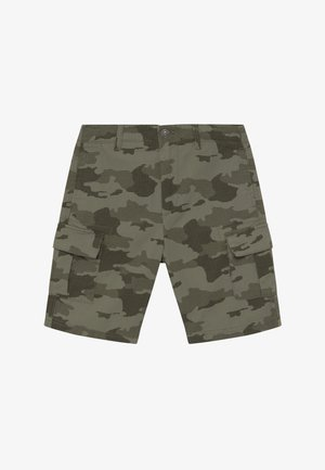 BERMUDA - Pantalones cargo - khaki
