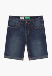 Benetton - Jeansshort - blue denim - 0